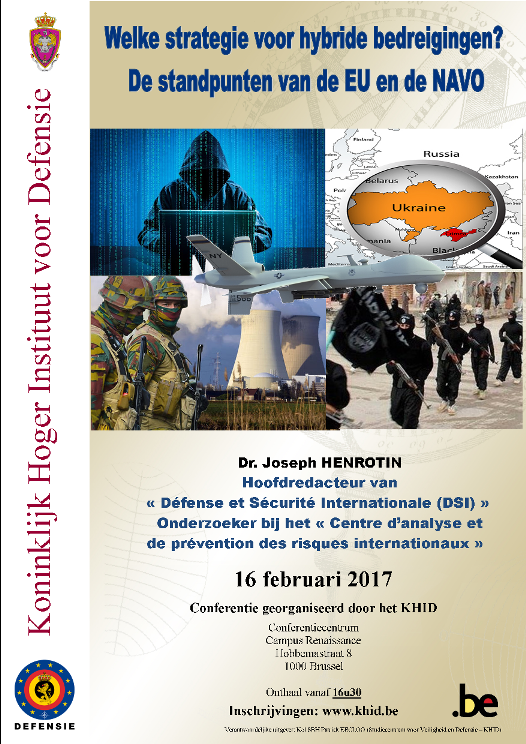 2017 16 Feb Affiche NLpub Hybrid warfare AT EP